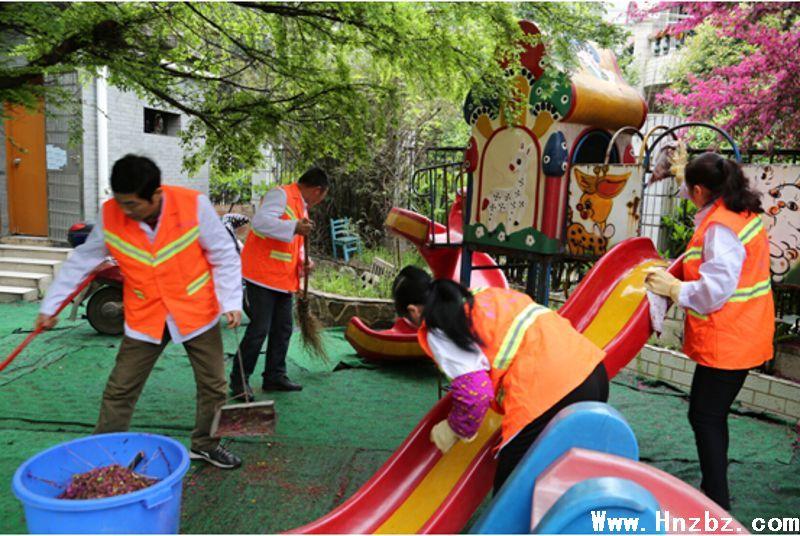"""长沙市政府门户网站--银盆岭街道:""""桔色天使""""用爱照亮孤独的心"""