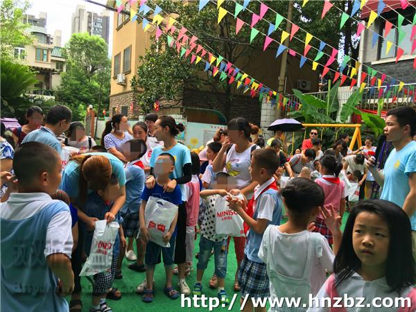 长沙开音自闭症学校与仰天湖小学联谊活动