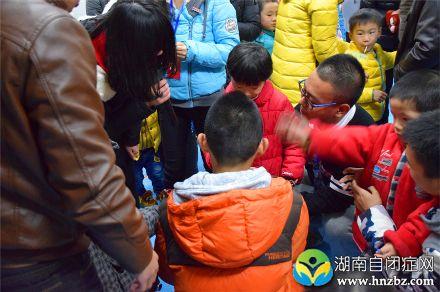 湖南商学院亲青年协会周末献爱心