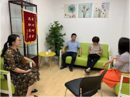 岳麓区残联理事长毛远志率队调研开音儿童训练发展中心